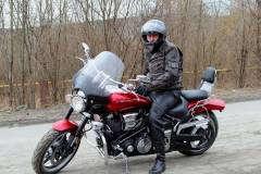 МОЙ Бешеный Красавец Yamaha XV 1700 Warrior