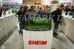 Аквариум на стенде компании EHEIM